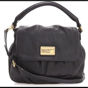 Marc Jacobs black Classic Q Lil Ukita Bag purse